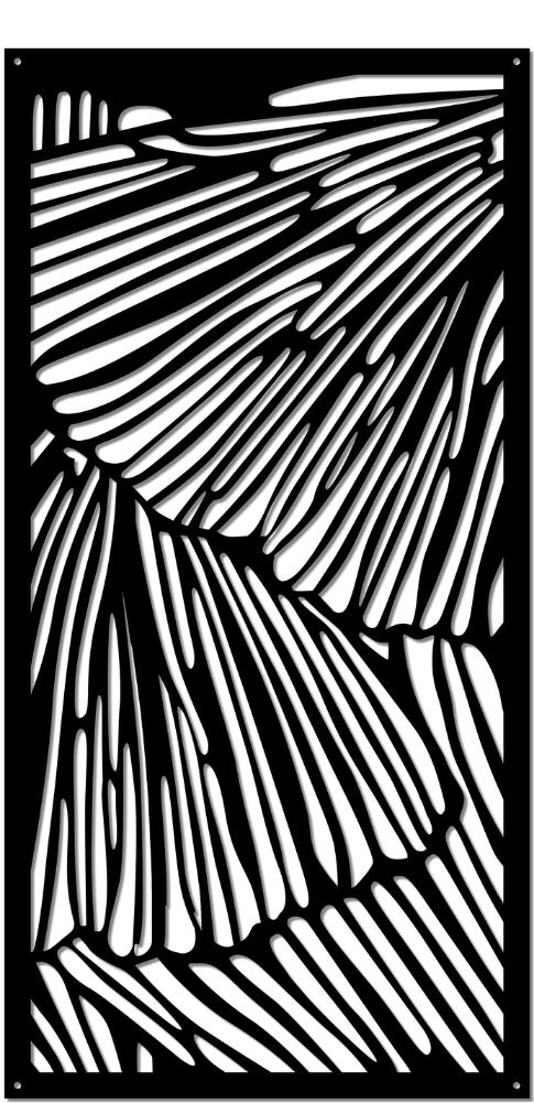 WidalDesign Mönster Laserskuren metall 13. Vingar